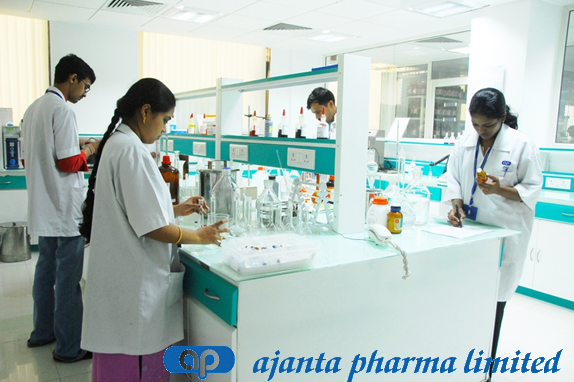 Ajanta Pharma personnel at work