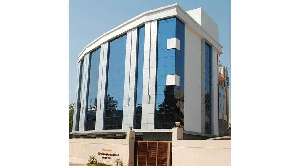 Office building of Ajanta Pharma