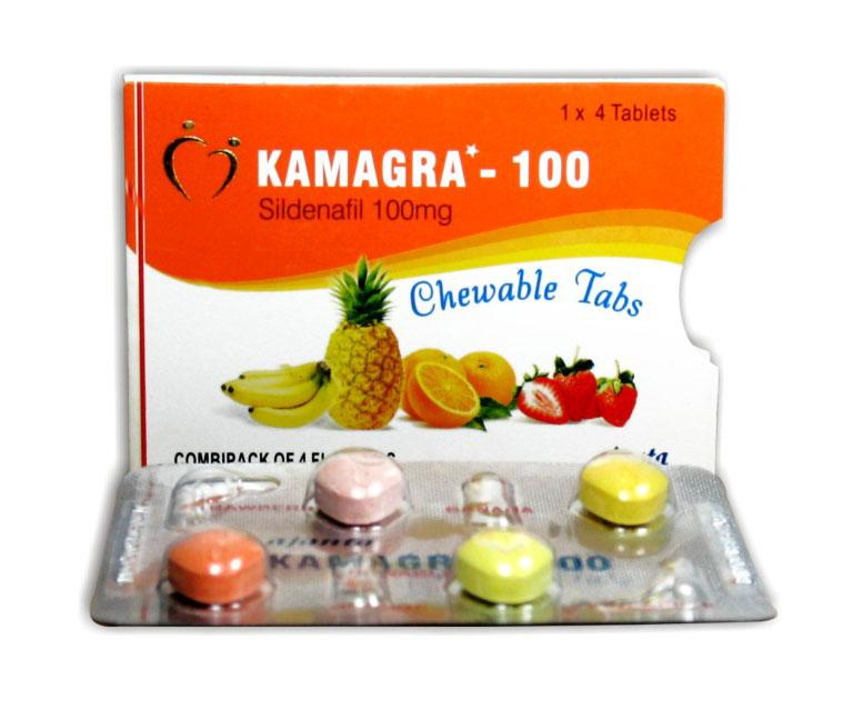 Kamagra line's soft or chewable tablets by Ajanta Pharma