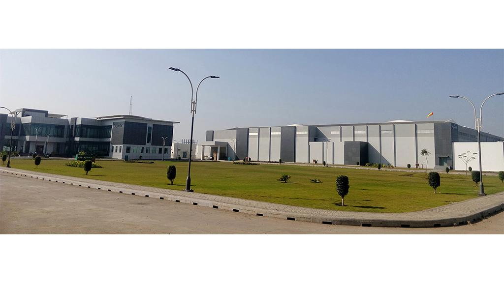 One of Ajanta Pharma's facilities, Dahej, India