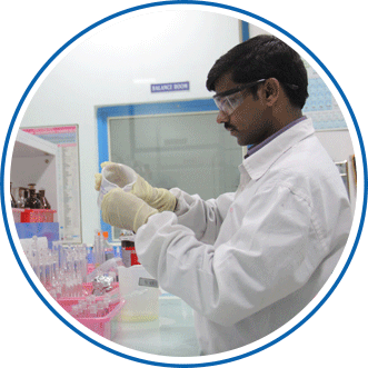 One of Ajanta Pharma's research lab segments
