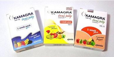 Kamagra Oral Jelly products from Ajanta Pharma