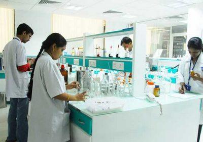 One of Ajanta Pharma's laboratories