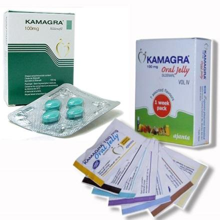 Kamagra pills and oral jelly