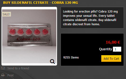 Cobra 120 mg Price