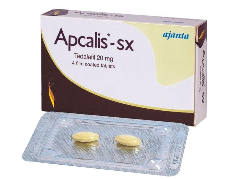 Apcalis-SX Tadalafil tablets from Ajanta Pharma