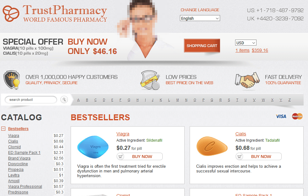 Trust Pharmacy Website