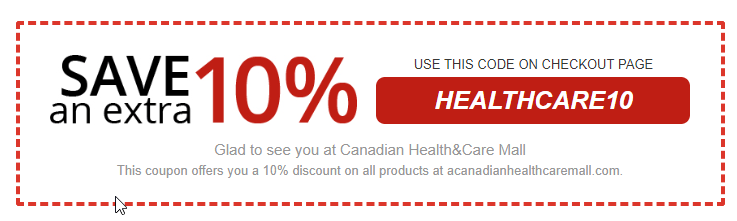 Canadian Health & Care Mall Coupon Code