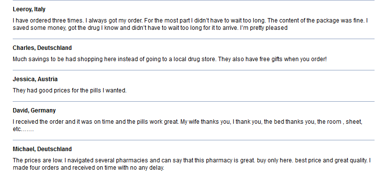 Online Pills Did Well Based on Customer Reviews