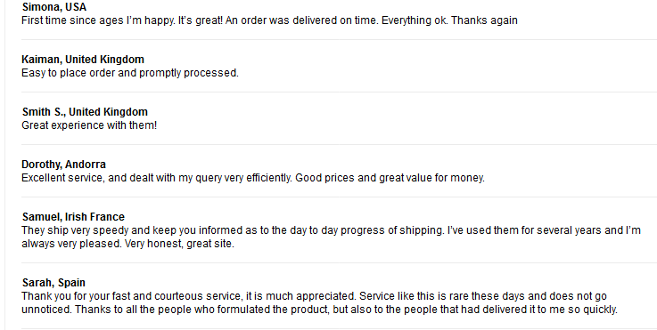 My Securetabs Customer Reviews
